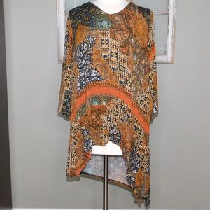One World High/Low Tunic Top